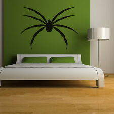 Giant Hairy Spider Wall Sticker Kids Bedroom Monsters Wall Art Decal Transfers