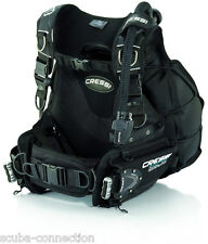 Cressi Back Jac Buoyancy Compensator with Lock-Aid Weight Integrated System