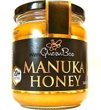 QueenBee Active Manuka Honey 12+,16+,20+ and 25+ 340g - New Zealand Honey