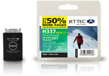Remanufactured Jettec HP337 Black Ink Cartridge for Officejet 6300 & more