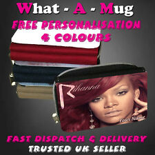 RIHANNA PURSE- 4 COLOURS - PERSONALISE FREE-IDEAL BIRTHDAY PRESENT GIFT
