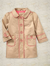NEW GAP PIPED TRENCH COAT SIZE 3T 4T