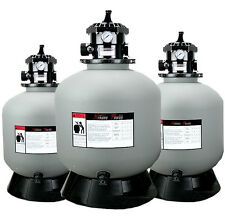 """In / Above Ground 19"""" Sand Pool Filter w/ 6 Position Valve Hayward Compatible"""