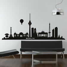 Berlin Germany Skyline Cities Wall Art Decal Wall Stickers  Transfers