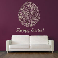 Deco Easter Egg Seasonal Wall Art Sticker Wall Art Decal  Transfers