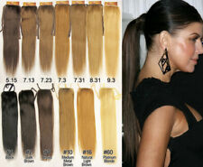"22"" REMY HUMAN HAIR PONYTAIL HAIR EXTENSION PIECE"