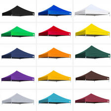 EZ Pop Up Gazebo 10 x 10 Outdoor Canopy Tent Replacement Top Polyester Cover