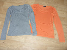 PIED A TERRE Plait & Frill Detail Top Long Sleeved RRP £55