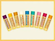 BURT'S BEES LIP BALM GREAT CHOICE OF FLAVOURS PLEASE SELECT FROM MENU NEW SEALED