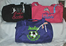 Custom Embroidered Personalized Sports Duffle Gym/Dance/Cheer Duffle Bag