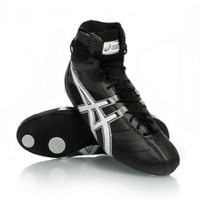Asics Black Smasher Boxing Boots Shoes