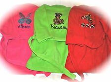 Personalized Children's Bath Robe with Completely Customized Embroidery-8 Colors
