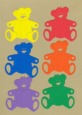 Your choice of colors on Teddy Bears #12 Die Cuts - AccuCut