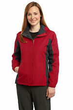 Port Authority Women's Seam Sealed Storm Flap Chin Guard Dry Shell Jacket. L309