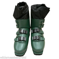 San Marko Alpine Ski Boots Sanmarko 4 Buckle  X Country Walk Climb Army Surplus
