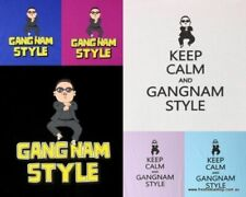 PSY inspired T-Shirt 100% Cotton - Gangnam Style