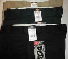 NWT DICKIES Mens Big Tall Original 874 Work Pants: Khaki Navy Black