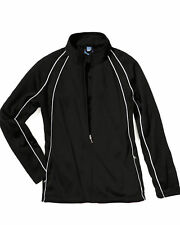Charles River Apparel Women's Fitted Olympian Open Hem Sports Jacket. 5984