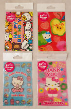 SANRIO Hello Kitty - 3D Sticker Seal Cards - New Baby, Thank You, Birthday,Apple