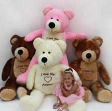 GIANT LARGE BIG XXL TEDDY BEAR BROWN/ WHITE/ CREAM 165 CM /145 CM FAST DELIVERY!