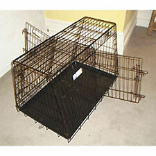 Double Car Cage 4 door sloped front & back with divider. With or without cover.