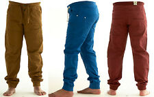 Mens Boys Enzo 989 Designer Jeans Chinos Pants Trousers Elasticated Waist & Hem