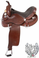 "Gaited Horse Trail Saddle-Gaited Horse Bars Dark Oil (Sizes 15.5"",16.5"",17.5)"
