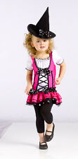Child Girls Toddler Sugar N' Spice Witch Cute Dress Costume NEW