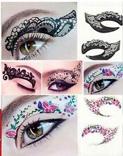 ✿ EYE TATTOOS STICKERS ✿ TEMPORARY MAKEUP ✿ EYE LINER ✿ US SELLER ✿ SEXY SHADOW