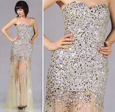 2 COLORS SHORT/LONG PROM COCKTAIL DRESS HOMECOMING EVENING FORMAL GOWN  4-18