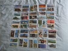 BROOKE BOND DOUBLE TEA CARDS:DISCOVERING OUR COAST:No's1-50 BUY INDIVIDUALLY