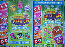 moshi monsters series 3 code breakers base and micro text cards