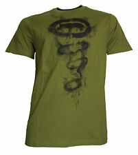 Ecko Up in Smoke T-Shirt / oliv