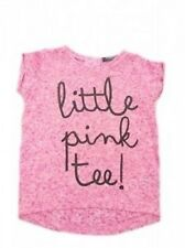 Baby & Girls NEW x M&S Limited Col T-Shirt Top -Ages 1.5-7y - Little Pink Tee