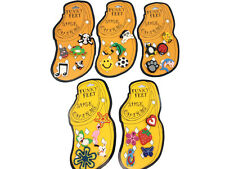 25pcs New Cute Boys Girls Accessory Funky Feet Shoe Charms For Fit Crocs Jibbitz