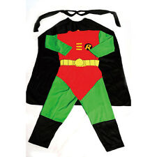 Robin Hero Kid Boy Fancy Party Costumes Outfit Age 2y-7y FC007