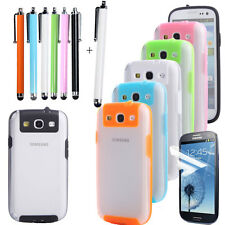 New Ultra-thin Frame TPU Clear Back Cover Case For Samsung Galaxy S3 III i9300