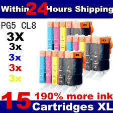 15 Compatible Ink Cartridges for Canon series printer