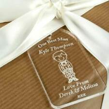 Personalised Traditional/Scottish Best Man gift tag, bottle tag