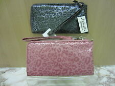 Ladies Fabretti Synthetic Leopard Print Purse, Available In 2 Colours, 33323
