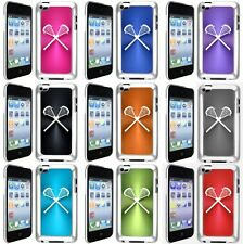 Apple iPod Touch 4th Generation Case Cover Lacrosse Sticks