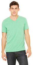 Bella + Canvas Men's Perfect Triblend Short Sleeve V Neck T-Shirt. C3415