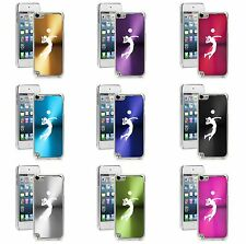 Apple iPod Touch 5th 6th Generation Hard Case Cover Female Volleyball Player