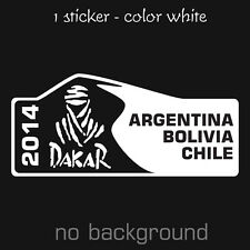 NEW RALLY DAKAR 2014 Sticker Decal Pegatina Adhesivo KTM Racing Motor Desert