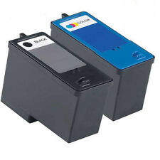 2 Non-OEM For Dell 9 Series Ink Cartridges Black Colour