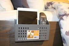 Bedside Organizer, remote control caddy, Bedside caddy, Tablet, Smartphone