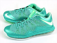 Nike Air Max LeBron X 10 Low Crystal Mint/Teal Green 2013 Easter Mens 579765-300