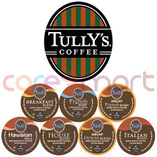 Keurig Tully's Coffee K-Cups, Pick Your Flavor! CHEAP!!!