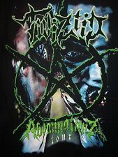 TWIZTID ABOMINATIONZ TOUR LOGO DOUBLE SIDED PRINT T-SHIRT NEW !