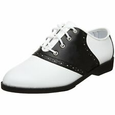 Ladies Saddle Shoes 50s Shoes 50s Costume Shoes Saddle Oxfords SADDLE-50